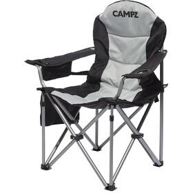 CAMPZ Silla Deluxe Brazos, gris/negro